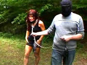 Training and fucking of two slaves